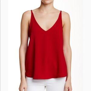v-neck strappy cami american apparel